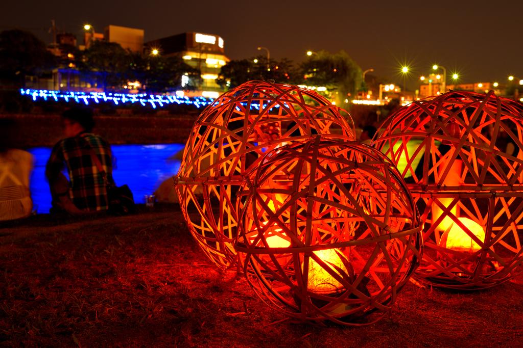 京の七夕、風鈴灯