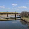 橋と電車とおニューのレンズ