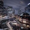 東京駅 17時半
