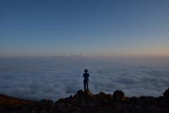 久住山から雲海を望んでⅢ