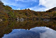 御池と紅葉