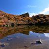 御池と紅葉Ⅲ