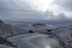 初冬の御池