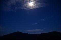 月光のくじゅう連山