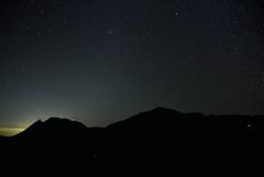 くじゅう連山の星々