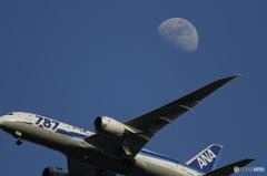 月と飛行機 その2