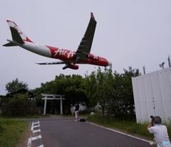 伊丹空港へ行ってみた―い 成田で我慢
