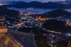 因島の夜景。。。②