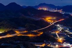 因島の夜景。。。