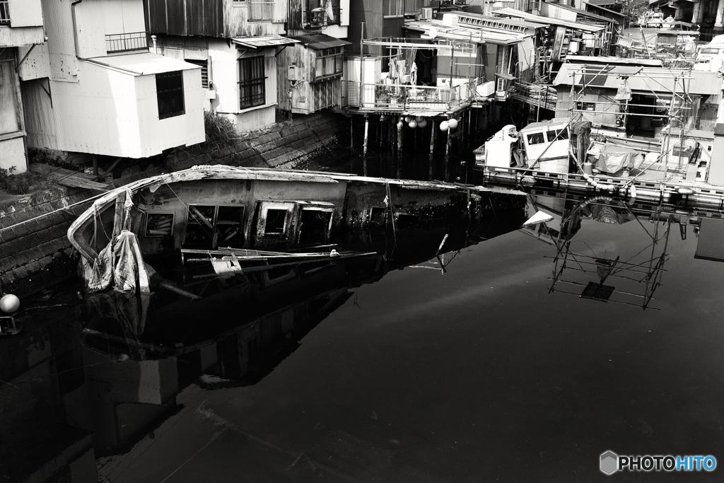 子安運河----④