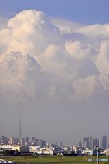 夏の日の雲---③