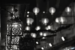 中華街・夕景----②
