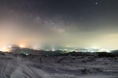 LightPillars & MilkyWay