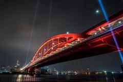 神戸大橋の袂