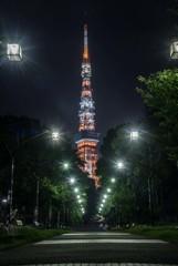 工事中?東京タワー