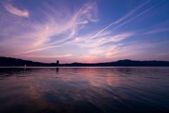 マジックアワー IN 琵琶湖