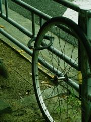 a locked wheel