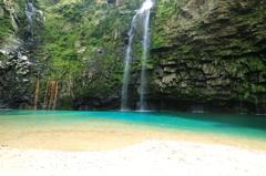 エメラルド~雄川の滝1
