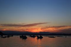 焼ける空~桜島