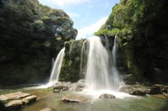 天然ミスト~桐原の滝