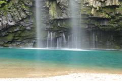 エメラルド~雄川の滝3