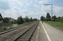 とあるドイツの田舎の駅。