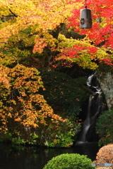 小滝の彩り