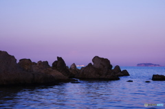 霞の季節(森戸海岸)