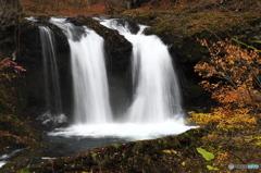 秋彩鐘山ノ滝