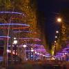 シャンゼリゼ通り夜景