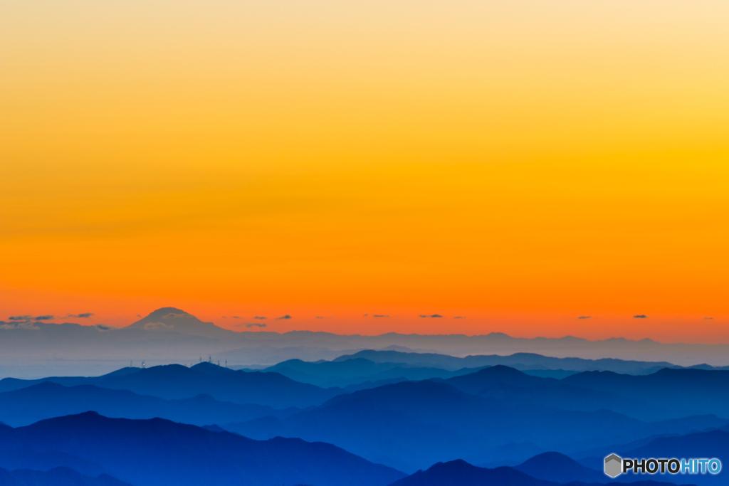 Re:大台ヶ原から見える富士