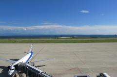 関空も見える大阪湾