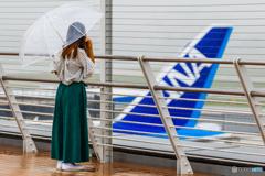 トリトンブルーの雨