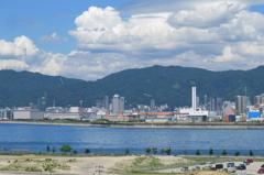 夏空の神戸