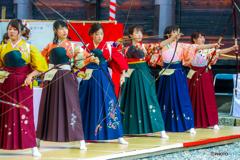 彩る袴たち