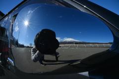 太陽と俺と富士山!!