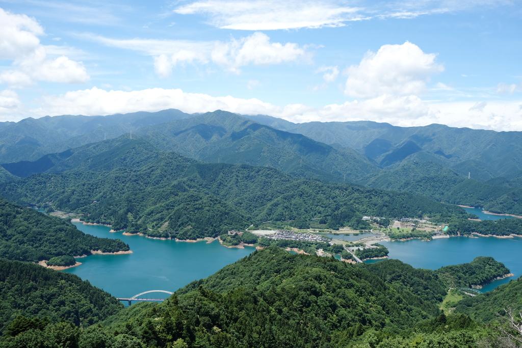 仏果山からの風景