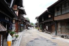 奈良井宿 雨の後に