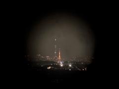 スカイツリーと東京タワーのコラボ