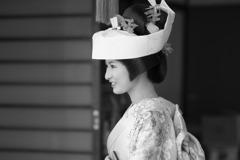 会津田島祇園祭 花嫁姿