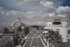 横浜 大桟橋の夏