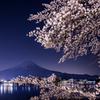 富士と桜②