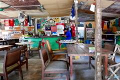 ランカウイ島の食堂