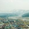 糸魚川の平野と山々