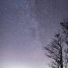 枝折峠より星空を望む