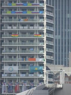 オリンピック選手村を望む4