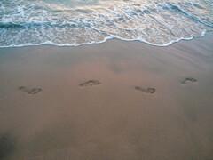 夏の午後~足跡~