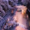 石神井川の夕暮れ