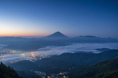 雲海富士山