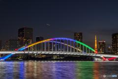 オリンピックカラー&東京タワー